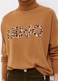 LIU-JO 1497  JERSEY CUELLO ALTO LOGO ANIM.